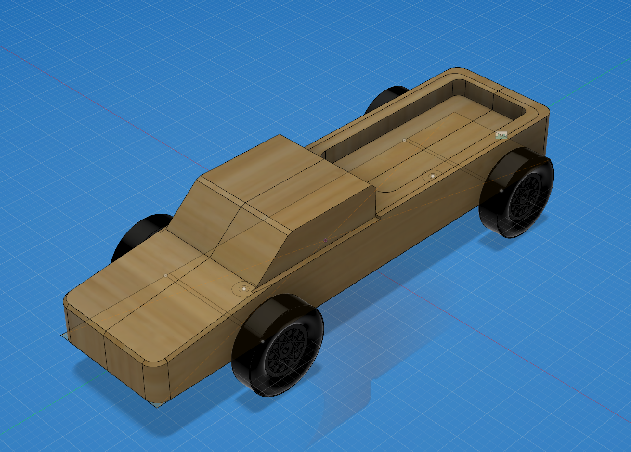 Pinewood Derby Plans ~ Custom pinewood derby cars cncrouterparts