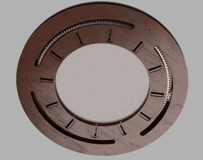 26 inch iris rendering