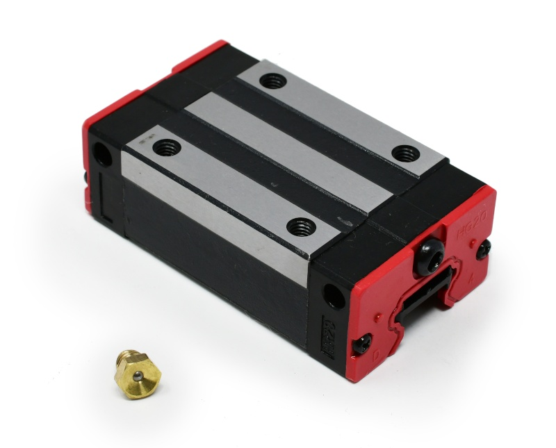 20mm Linear Bearing Block with Grease Fitting