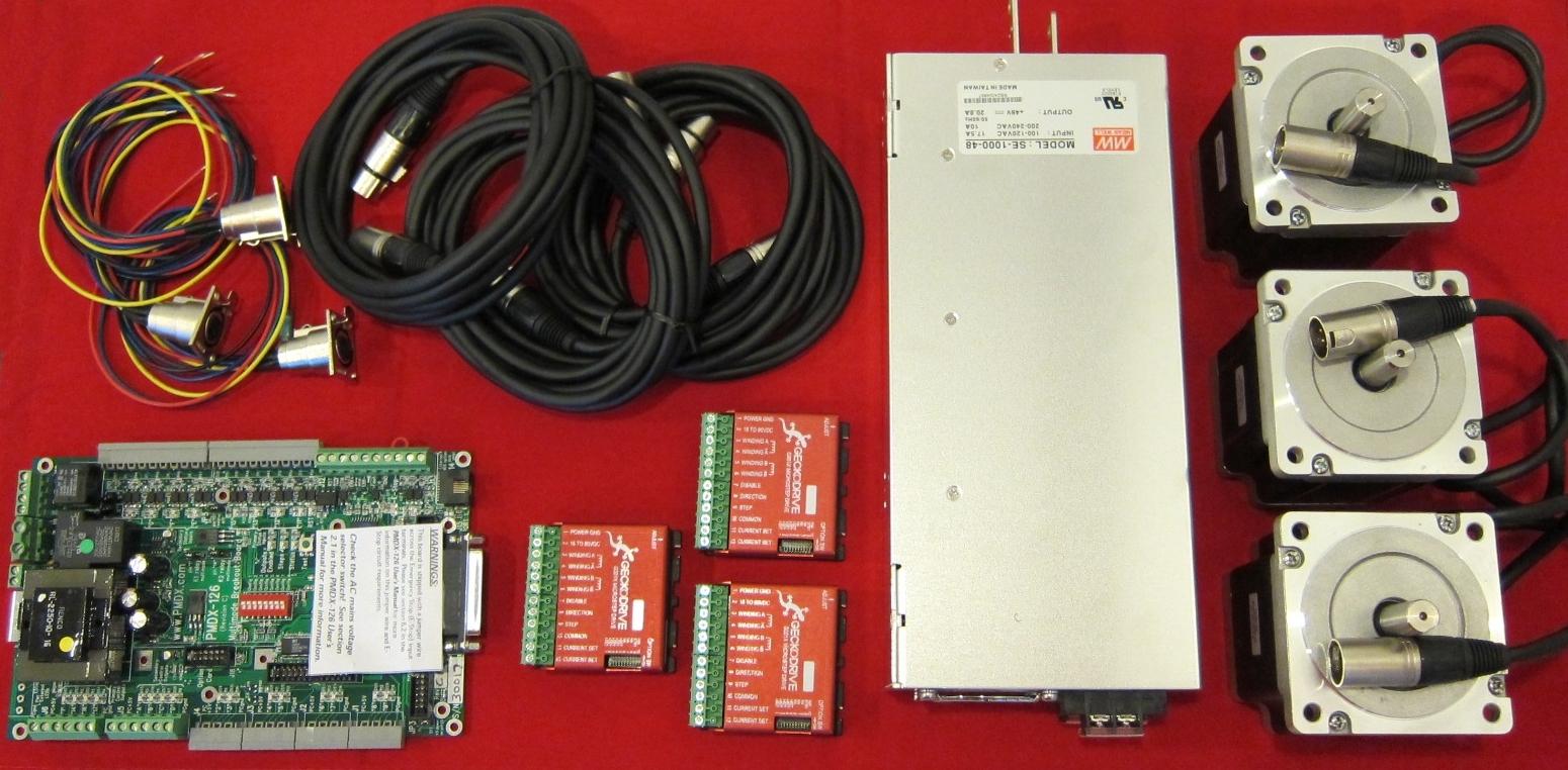 4 axis dm542a wiring diagram db25 rs