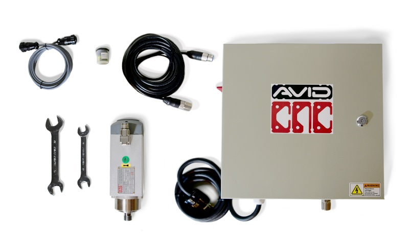 3 HP CNC Spindle and VFD Plug and Play System from Avid CNC