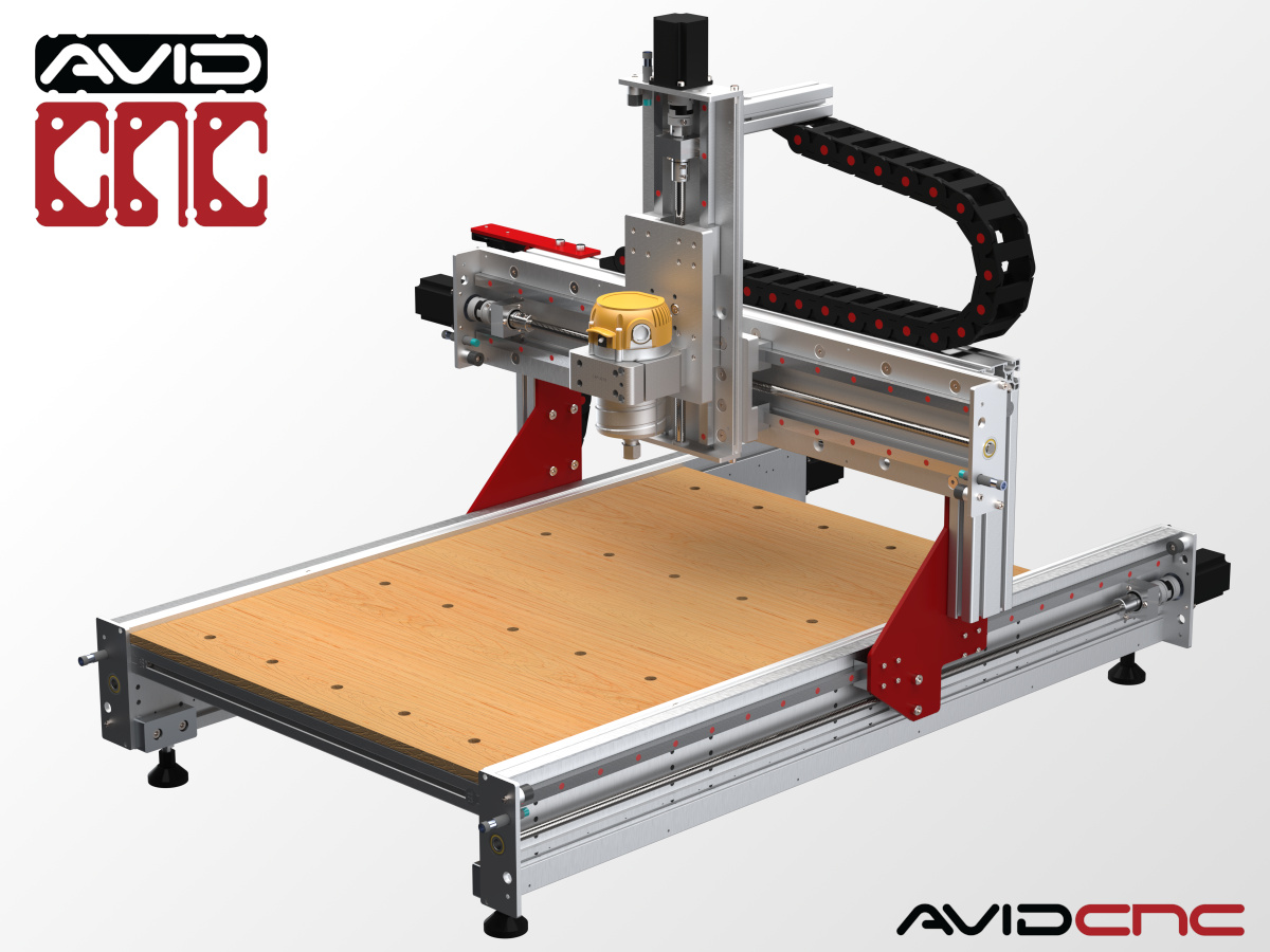CNC Router Parts Benchtop Standard 2' x 3'