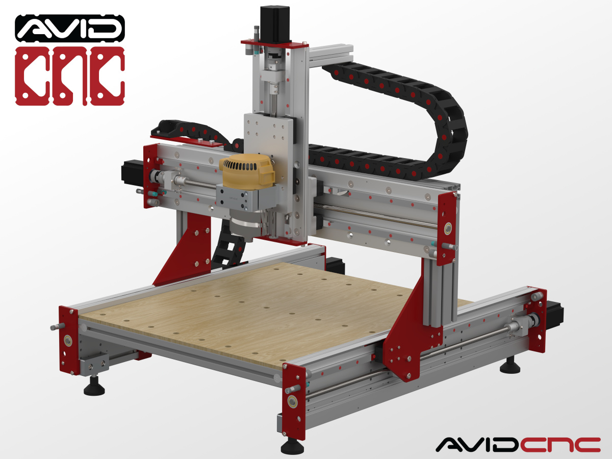 CNC Router Parts Benchtop Standard