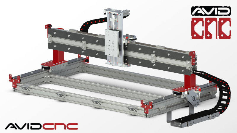 CRP4824 4' x 2' CNC Router Kit | Avid CNC