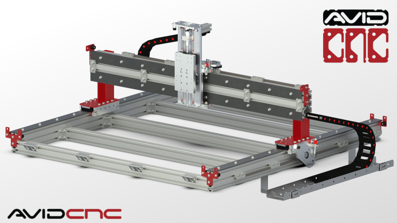 CNC Router Parts CRP4848