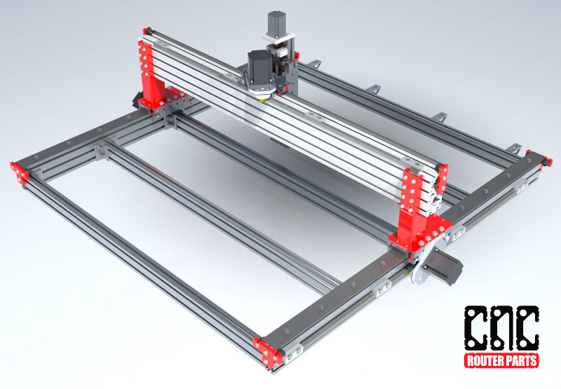 how to build machine parts rack from a 3d printer