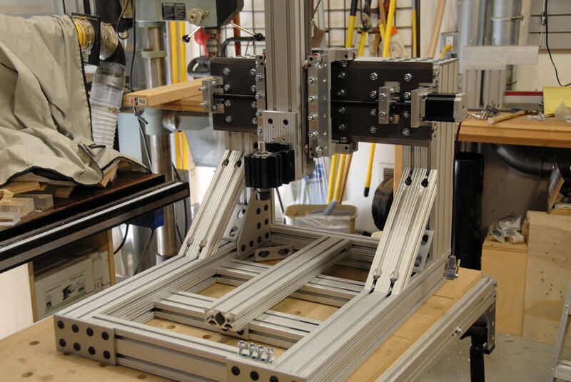 Don Frambach S Fixed Gantry Router Cncrouterparts