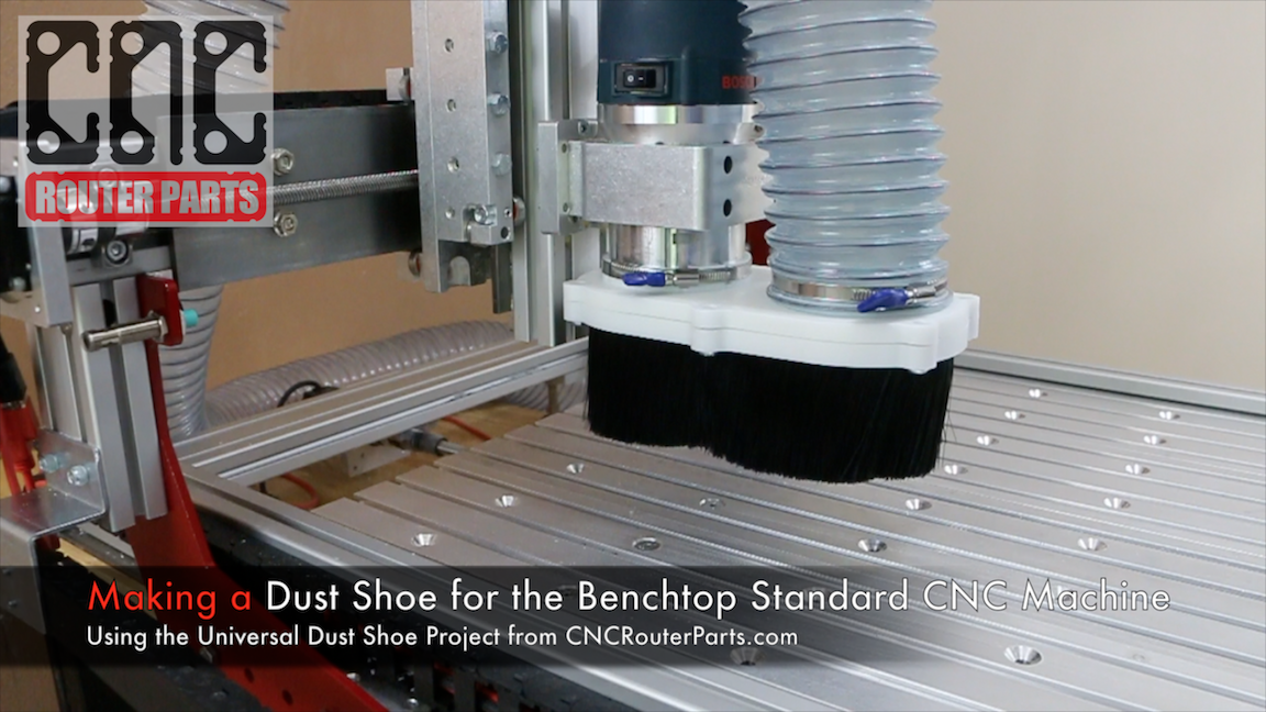 Universal CNC Dust Shoe | Avid CNC | CNC Router Parts