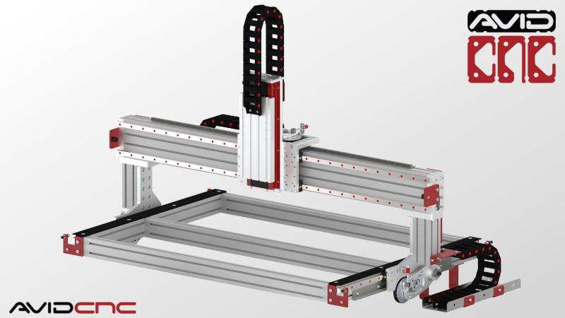 PRO4824 4' x 2' CNC Router Kit   Avid CNC   CNC Router Parts