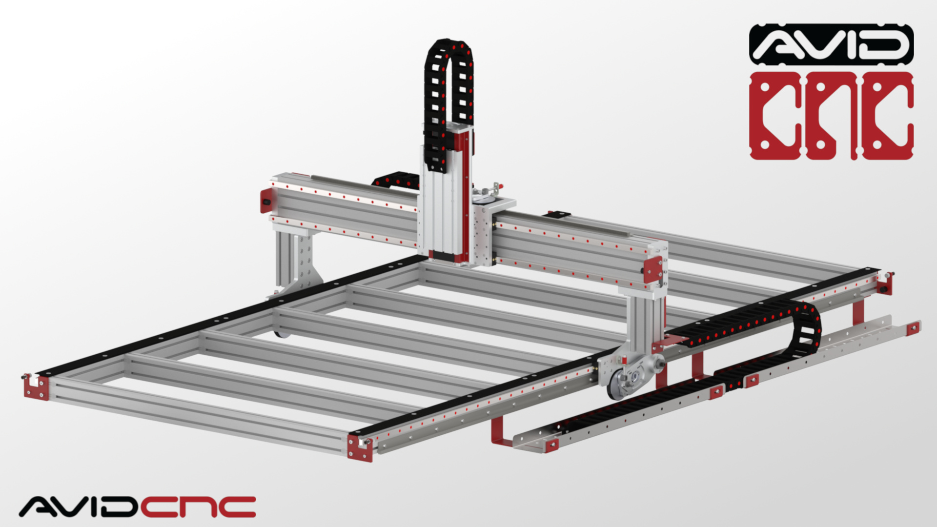 PRO400 40' x 40' CNC Router Kit   Avid CNC