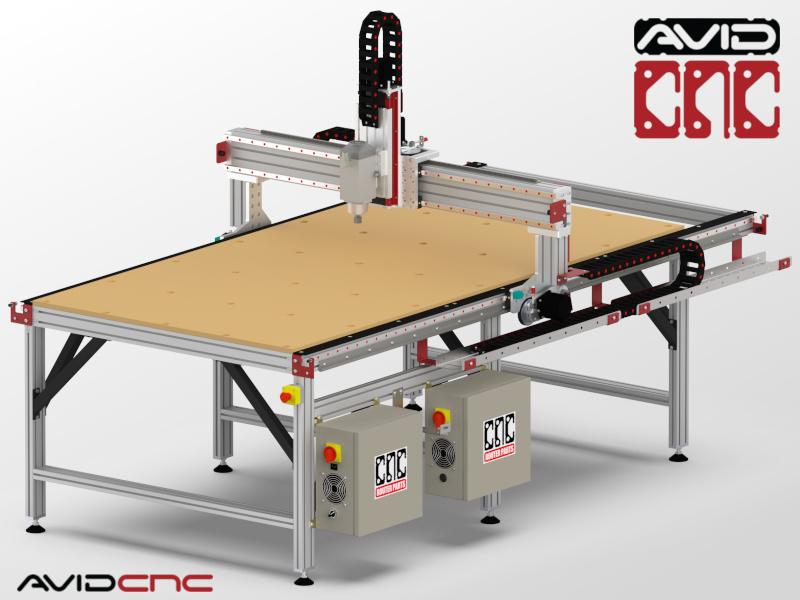 Pro4896 4 X 8 Cnc Router Kit Avid Cnc Cnc Router Parts