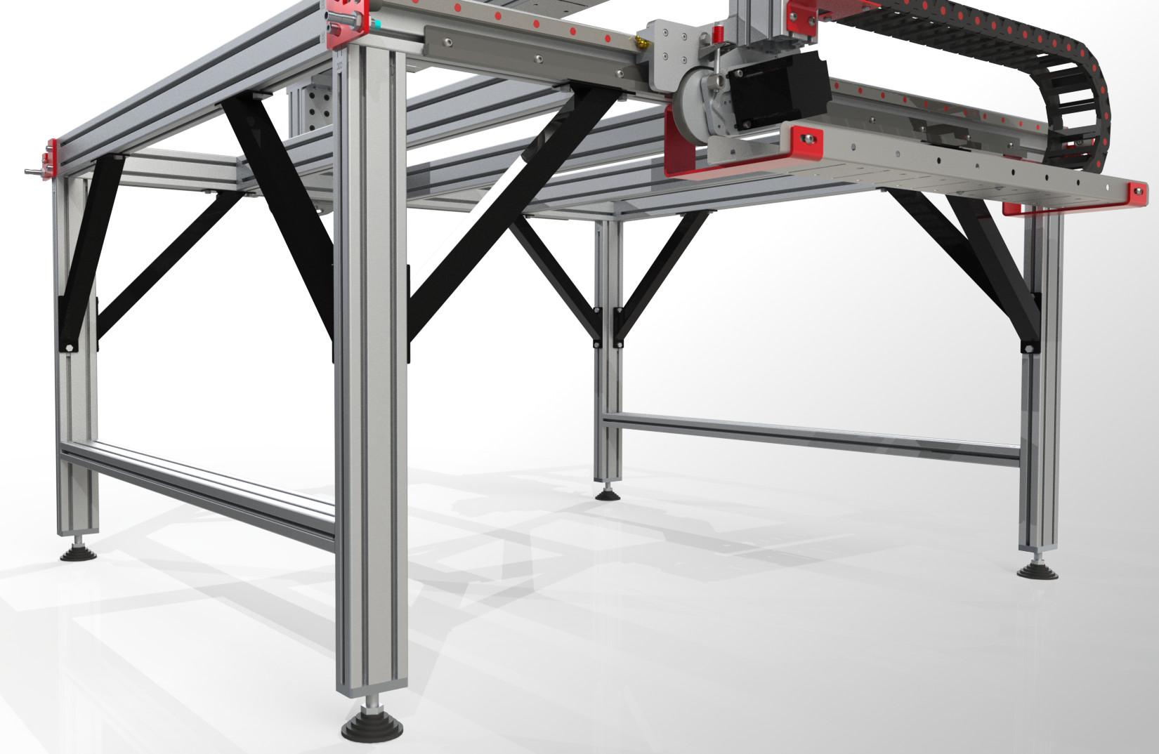 X4 Leveling Kit >> Leg Kit Assembly Instructions | CNCRouterParts