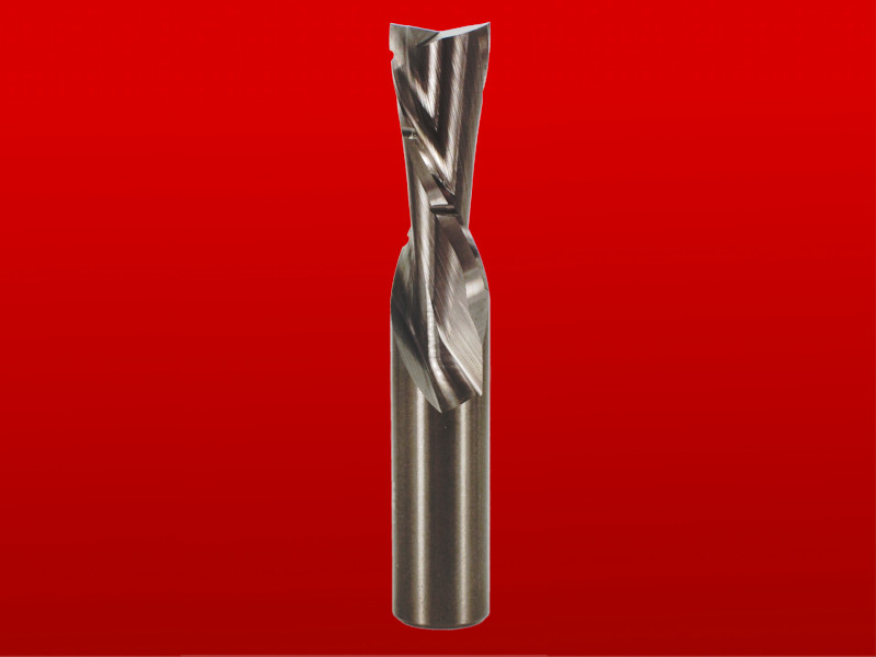 "Whiteside Chipbreaker Down Cut Spiral CNC Router Bit - Solid Carbide, 1/2"" D, 1-1/4"" CL, 1/2"" SH, 3"" OL, 2 FL"