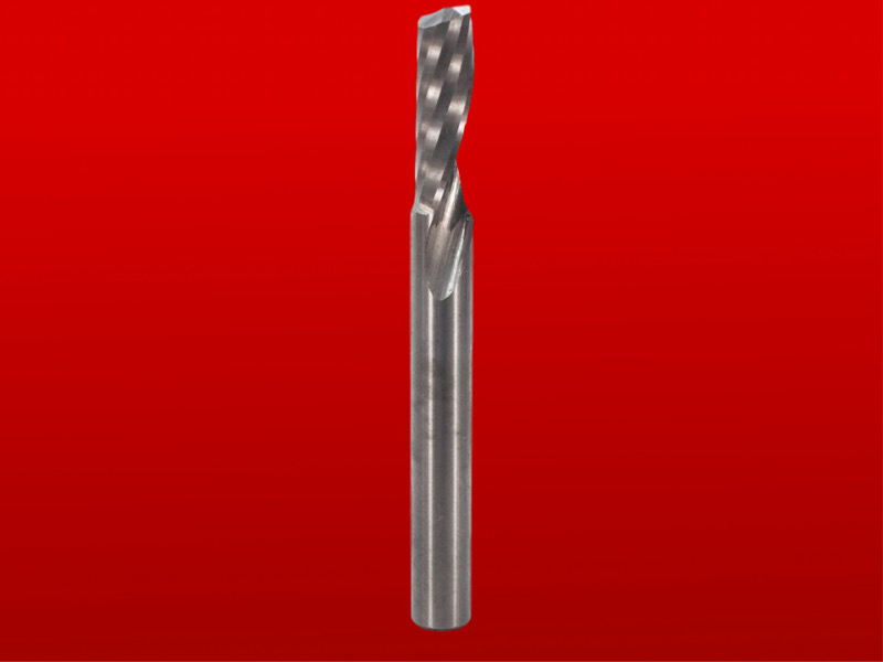 "Whiteside O-Flute Up Cut Spiral CNC Router Bit - Solid Carbide, 1/4"" D, 3/4"" CL, 1/4"" SH, 2-1/2"" OL, 2 FL"
