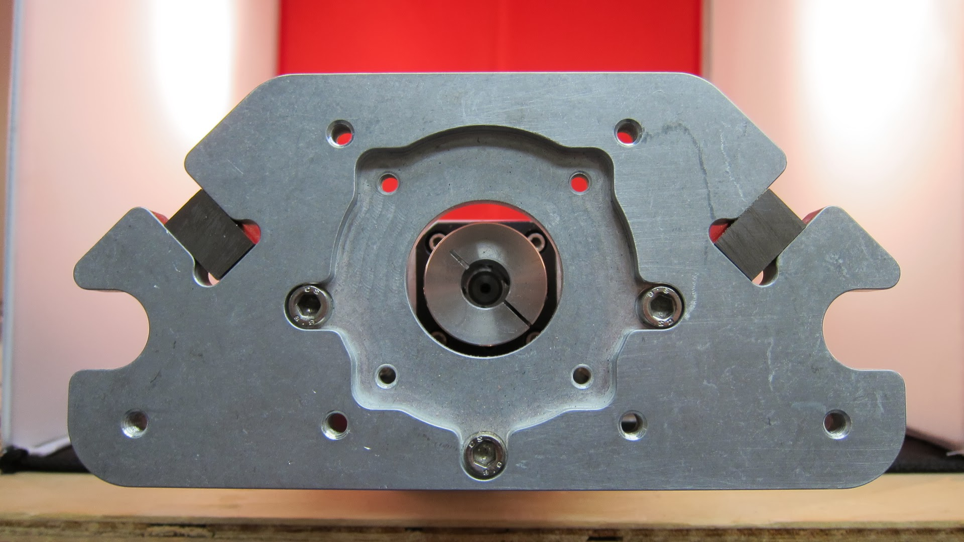 Ballscrew z axis cncrouterparts for Nema 34 stepper motor mount