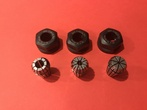 "ER20 Collet and Nut Set, 1/8"", 1/4"", 3/8"""