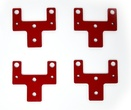 Standard Table Axis Bumper Kit, Set of four